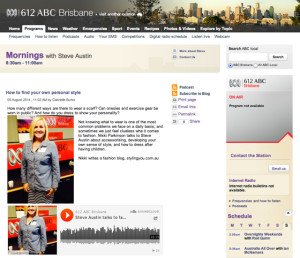 612 ABC Brisbane interview with Nikki Parkinson