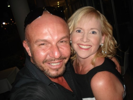 Alex Perry and Nikki Parkinson at the launch of Alex Perry for Zambezee Boutique, September 29, 2009 #selfie