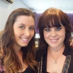 Bloggers Collective Brisbane Beauty Bloggers Event organisers Sarah from Hip N Haute and Annica from Haute and Stylish
