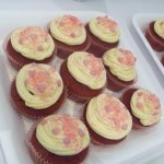 Red velvet cupcakes. Yum.