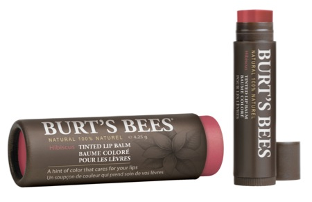 Burt's Bees Tinted Lip Balm in Hibiscus is the pin-up lip balm for this year's Liptember.  Get it at Myer for $10 from Thursday and support this cause for women's health