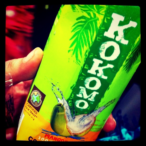 I rehydrated like a model with Kokomo coconut water