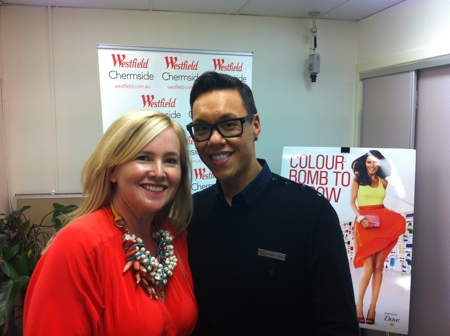 Nikki Parkinson and Gok Wan