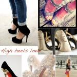 high heels love