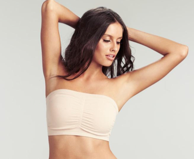 Nearly Nude strapless bandeau $45.95
