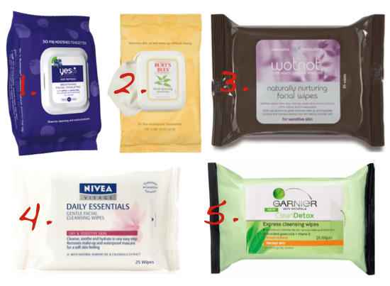 favourite face wipes