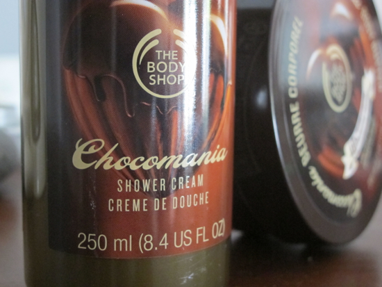 The Body Shop Chocomania Shower Cream $13.95 and Body Butter $29.95