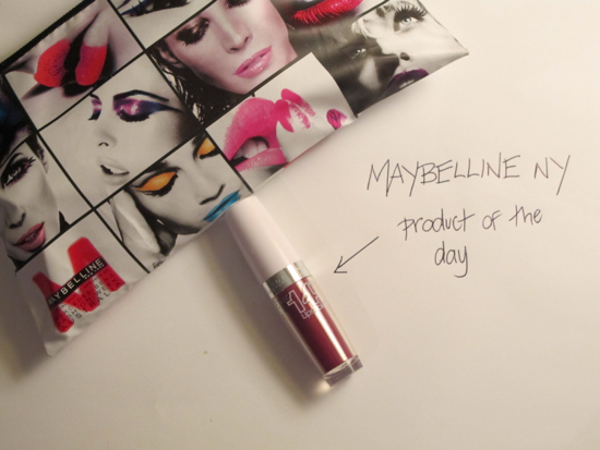 Day 1 MNYAU product 14hr Superstay Lipstick