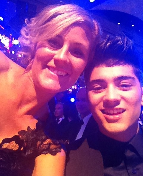 Katrina Chambers and a member of One Direction