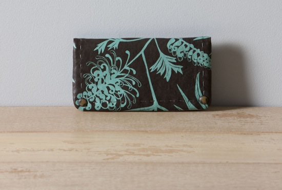 Nancybird Chocolate Grevillea Pearl Wallet Nina Proudman Offspring