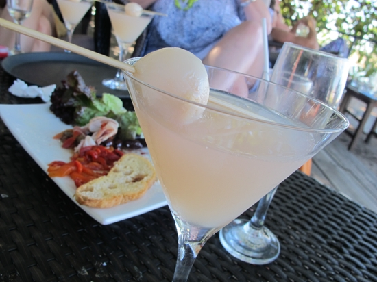 Lychee martinis | Justification: some drinks are just made for summer afternoons by the water