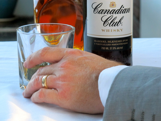 Canadian Club Don Draper
