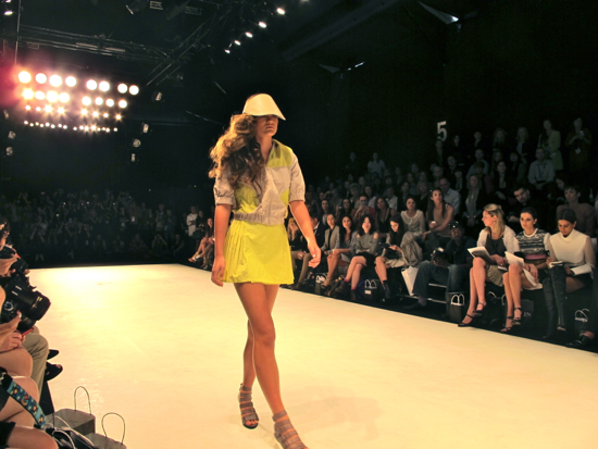 Tovah at Mercedes Benz Fashion Week Australia