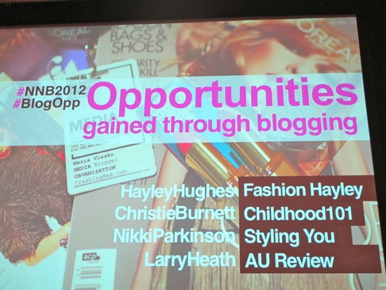 Opportunities gained through blogging