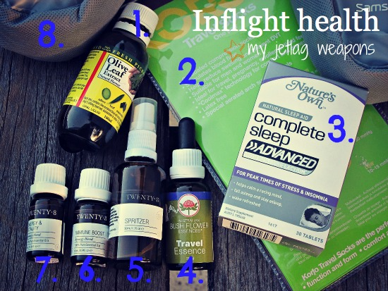 Inflight health - jetlag weapons