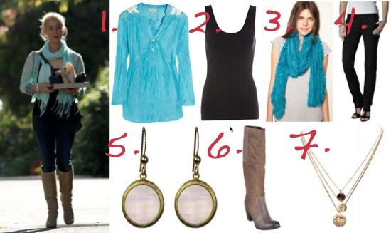 Nina Proudman Offspring fashion inspiration | Season 3 | Episode 12
