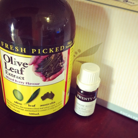 Olive Leaf Extract | Twenty 8 Immune Boost | Kleenex Eucalyptus tissues