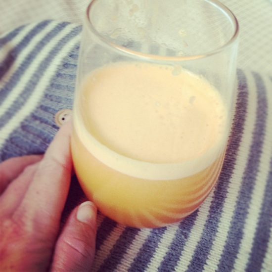 Fresh citrus juice from the Thermomix