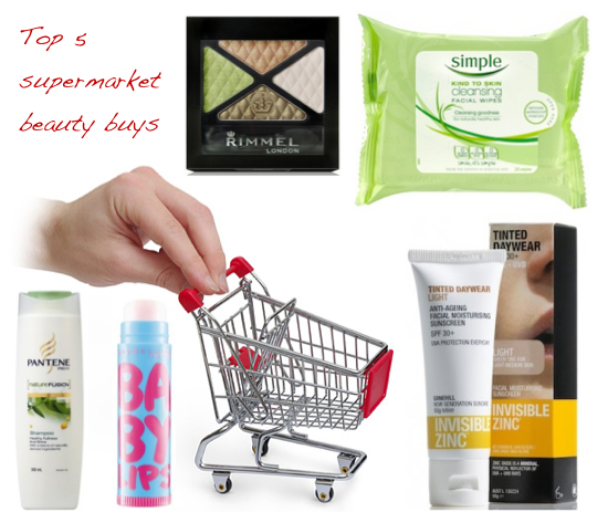5 top supermarket beauty buys