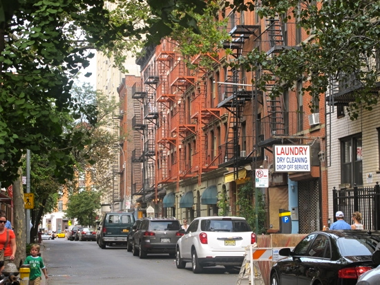 Our street: Cornelia Street, West Village