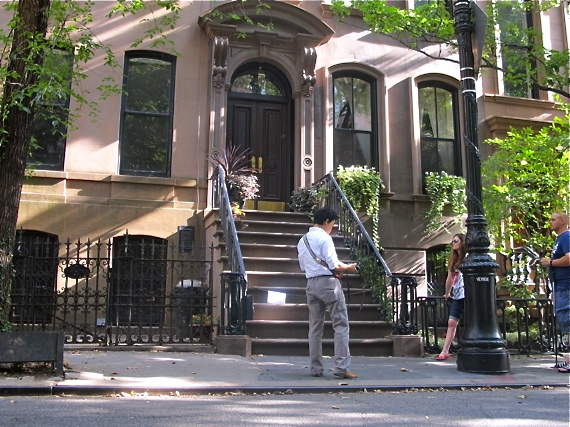 New York city must-do; stroll through West Village and visit Carrie Bradshaw's step