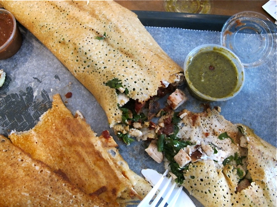 New York City must-do: eat dosas at Hampton Chutney Co, Soho