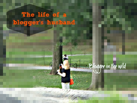 Husband of a blogger