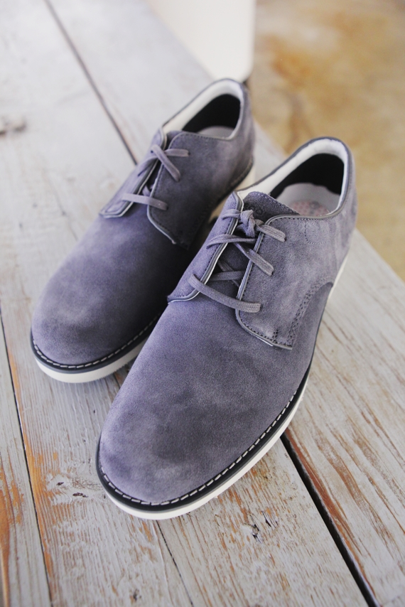 Tip Top Shoes Father's Day Gift Guide:Rockport Cable Noble Suede, June 15th