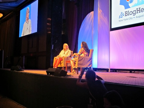 Martha Stewart BlogHer '12
