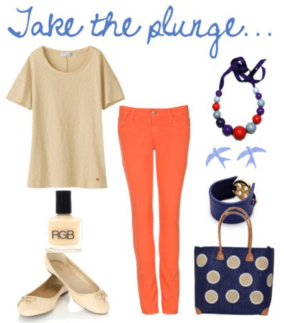 How to wear orange