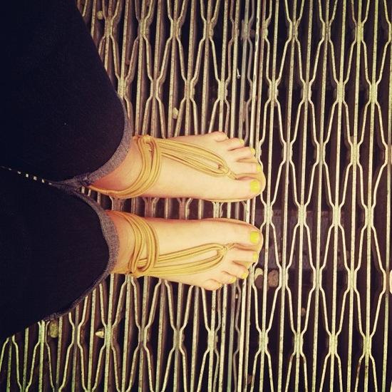 Bella Lido Roman sandals