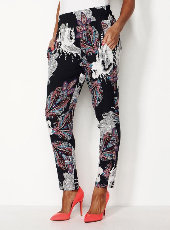 Mela Purdie Moroccan Paisley pants