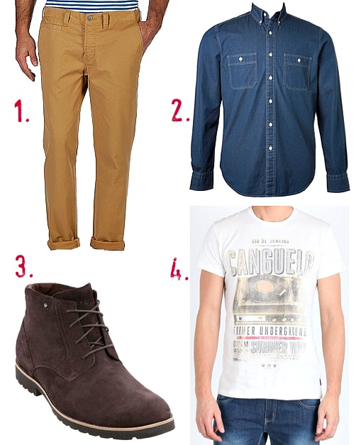 How to wear mustard coloured pants