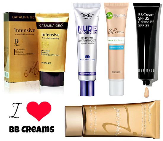 I heart BB Creams