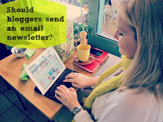 Should bloggers send an email newsletter?