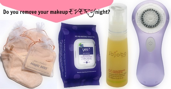Do you remove your makeup every night?