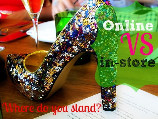 online versus in store shopping