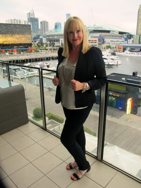 Keeping it Real: the weekend in Melbourne outfit   metallics