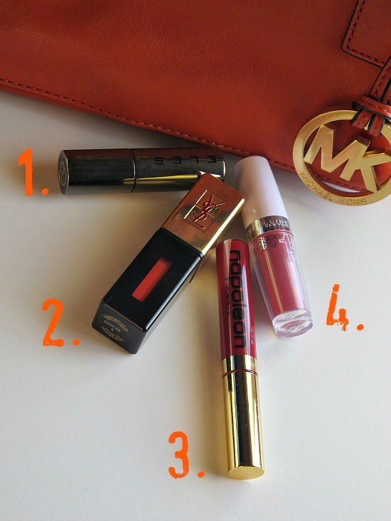 4 lipsticks that pop