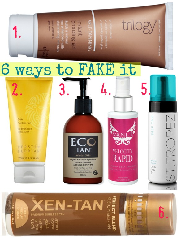fake tans | 6 self-tanners to try this summer