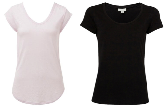 Wardrobe essentials: tees