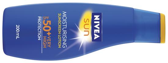 NIVEA Sun Moisturising Sunscreen SPF 50+