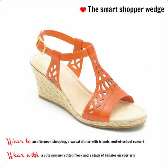 Rockport Emily wedge $169.95