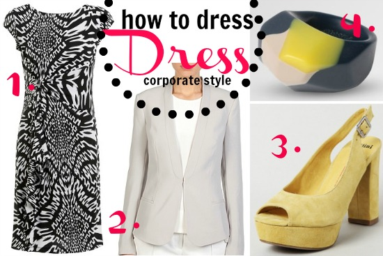 How to dress corporate style: The dress outfit