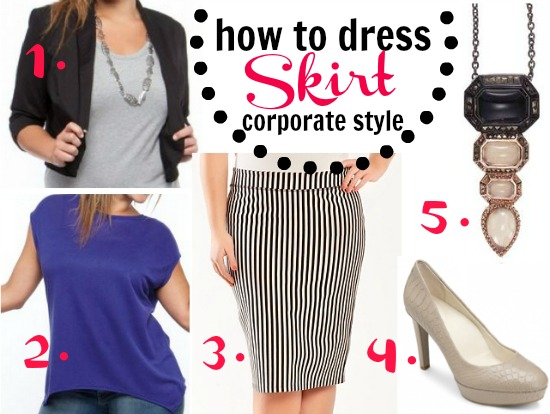 How to dress corporate style: the skirt outfit