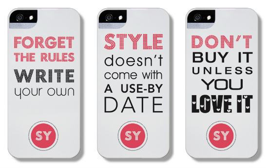 Styling You phone cases | Available iphone 4, 4S, 5 and Samsung Galaxy S3 | The Dairy
