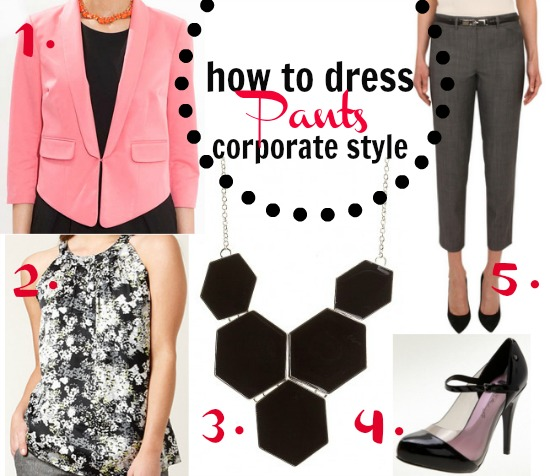 Corporate style: the cropped pants outfit