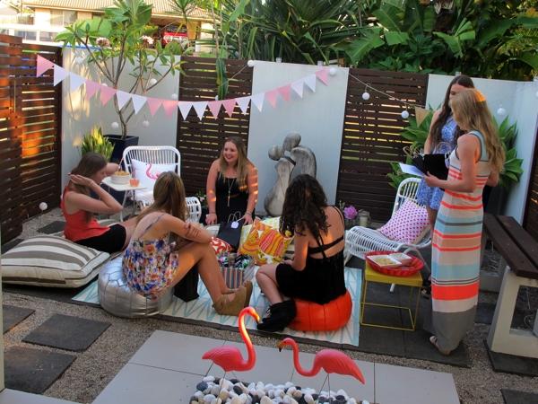Backyard Birthday Party Ideas Sweet 16 boho sweet 16 birthday party by laura aguirre Backyard Birthday Party Ideas Sweet 16