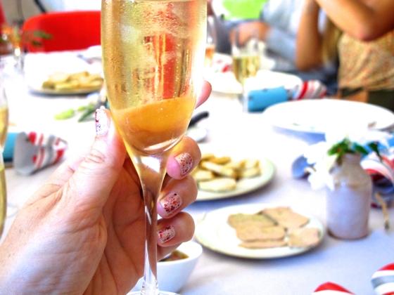 Christmas 2012 champagne