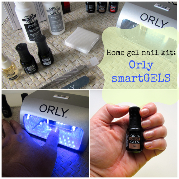Orly SmartGels home gel nail kit